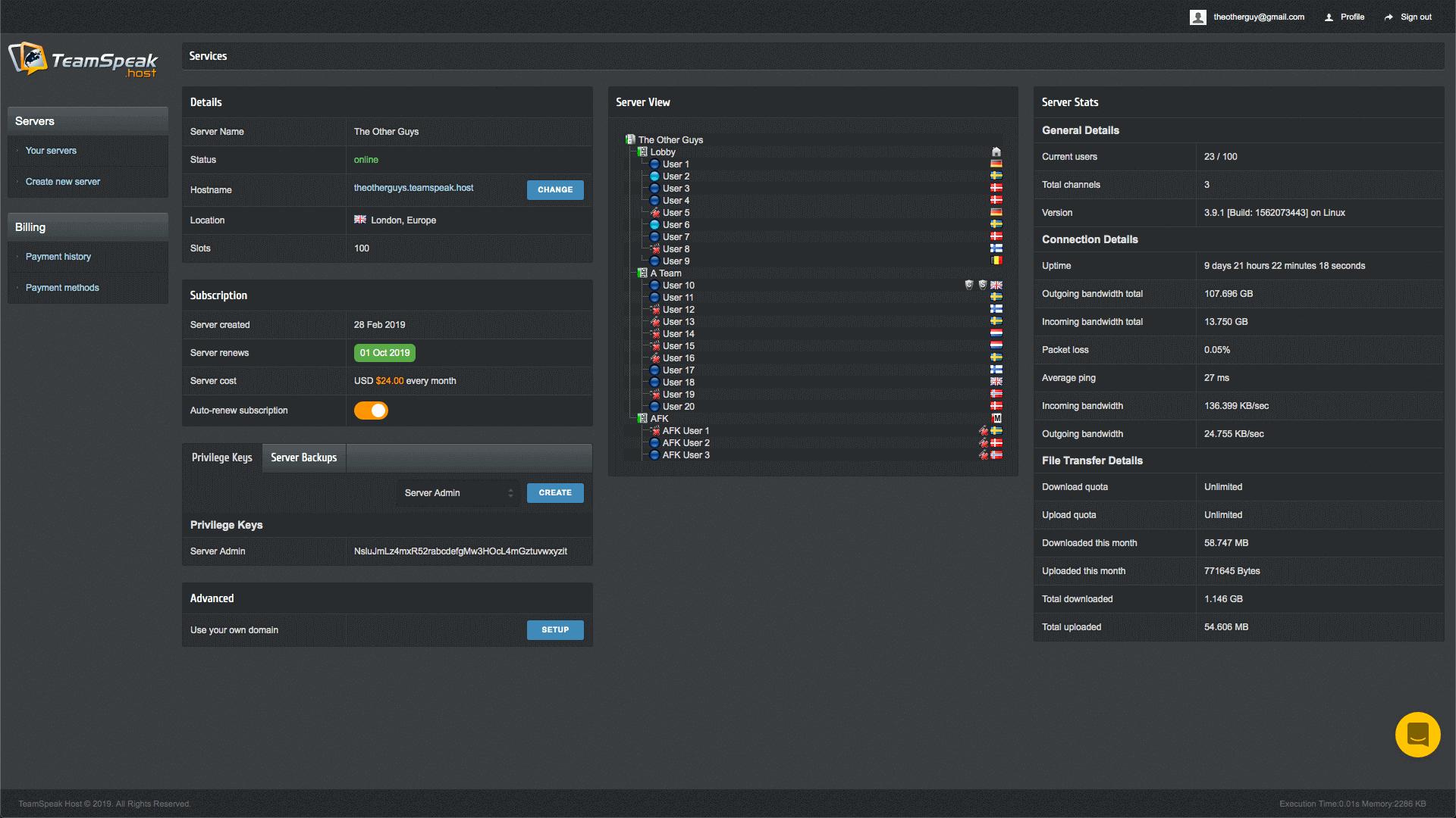 хостинг с серверами за границей